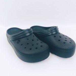 Crocs Clogs Navy Blue Classic 9 Womens